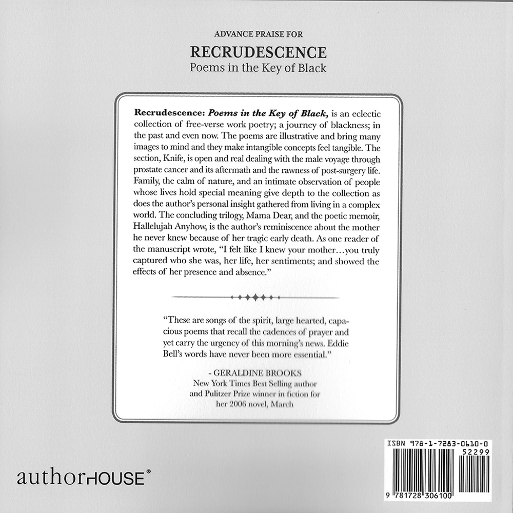 Recrudescence Back Cover